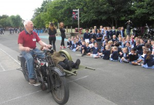 OLOL School Stretcher Bike