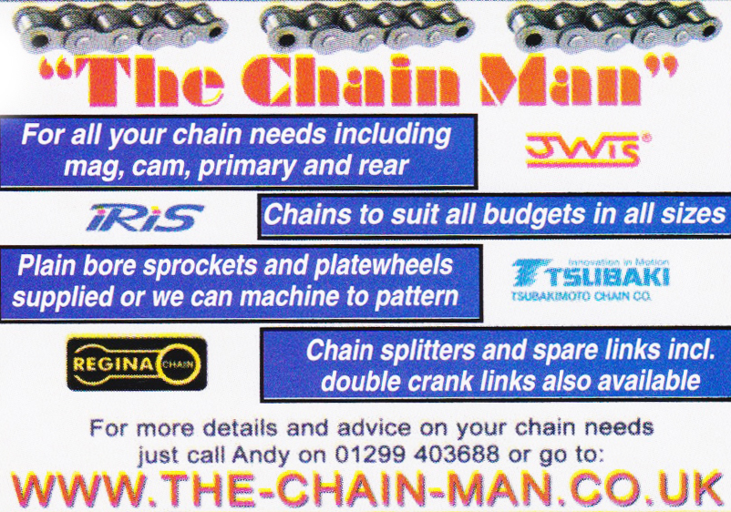 Drive Chains – John's Motorcycle News