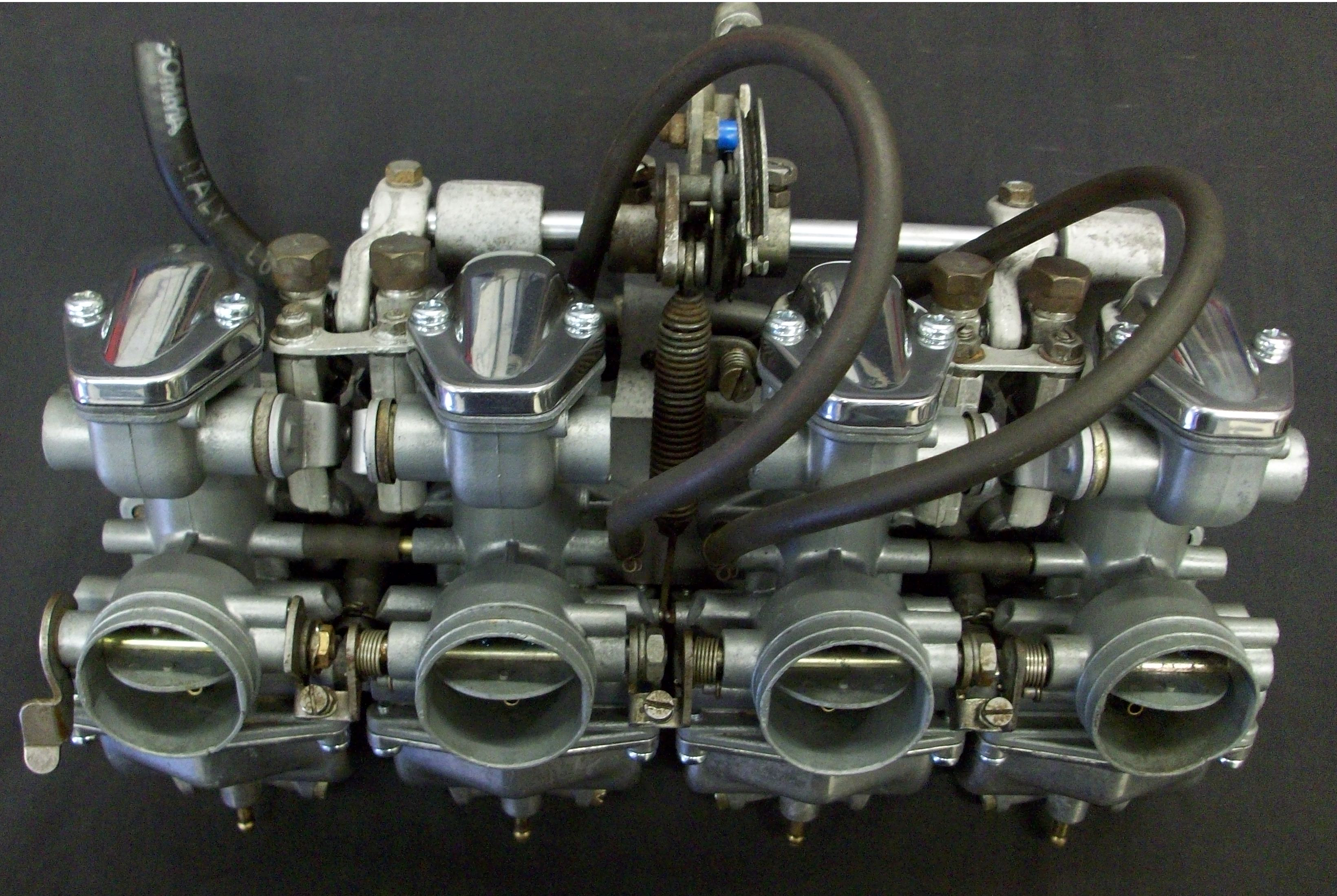 Vapour Blasting Motorcycle Engine