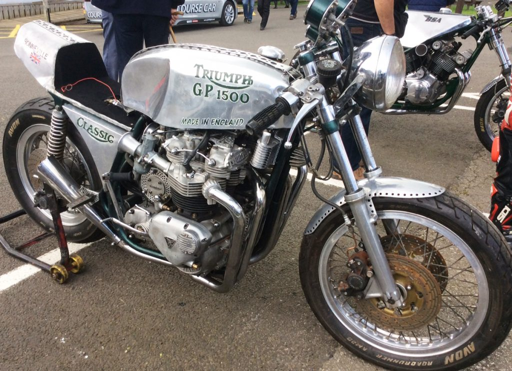 George pooley s hand built specials john 39 s motorcycle news for Construction bonneville